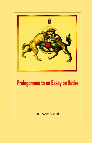 PROLEGOMENA TO AN ESSAY ON SATIRE-1